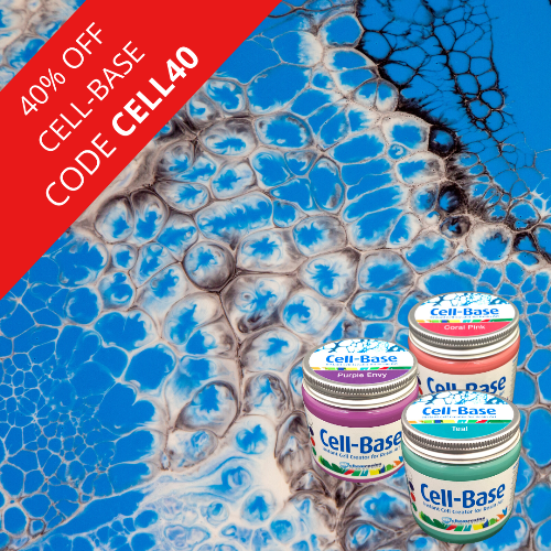Cell-Base Instant Cell Creator for Resin Art 75g
