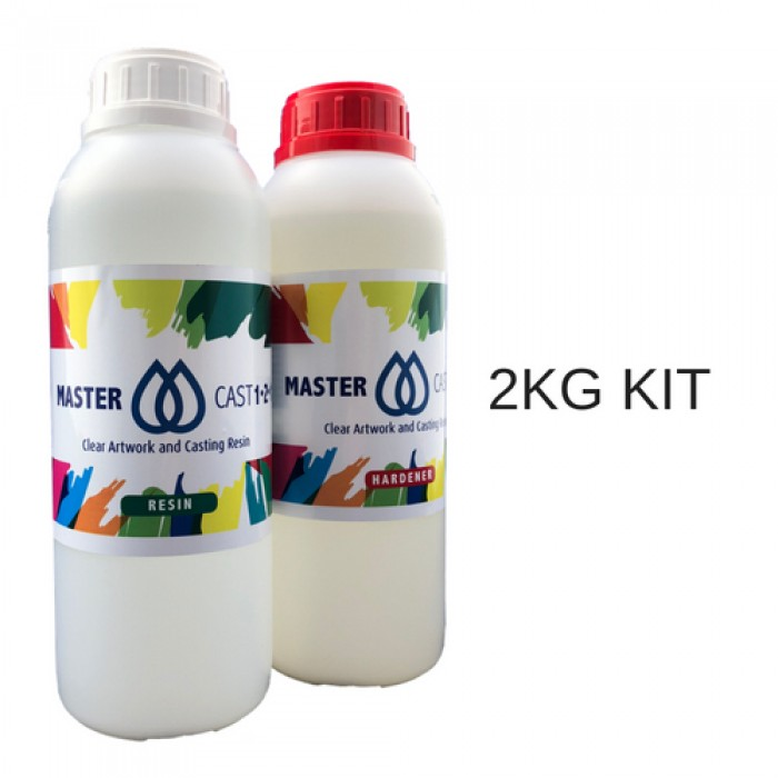MasterCast Clear Epoxy Coating Resin for Artwork - UK Supplier of