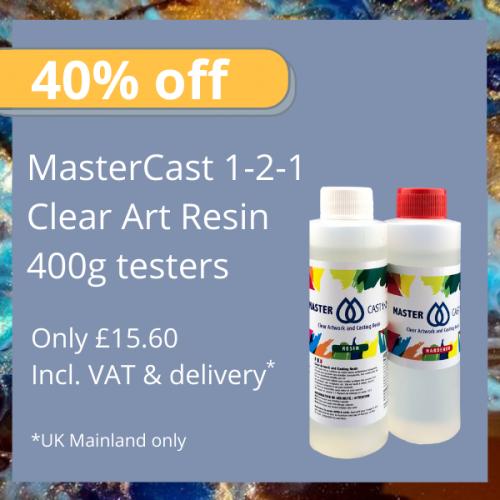 MasterCast 1-2-1 Clear Art Coating Resin
