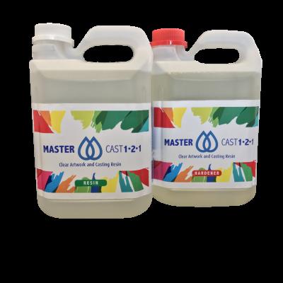 MasterCast 1-2-1 Clear Art Resin