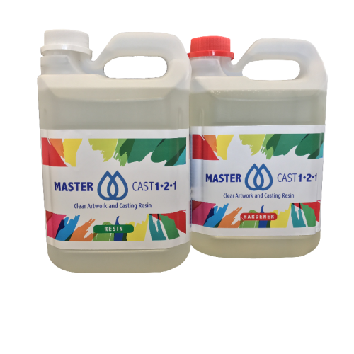MasterCast 1-2-1 Clear Art Coating Resin
