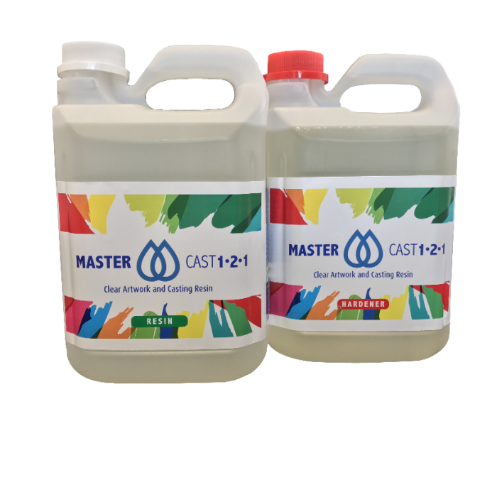 MasterCast Clear Epoxy Coating Resin for Artwork - UK