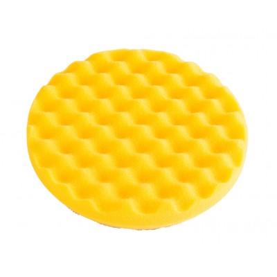 Mirka Polishing Foam Pad 150x25mm Yellow Waffle, 2/Pack