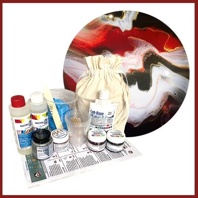 Resin Art Gift Pack - Cell-Base Marooned