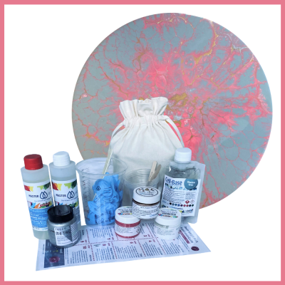 Resin Art Gift Pack - Cell-Base Perfectly Pink