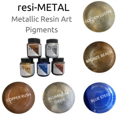 resi-METAL Metallic Pigments 100g