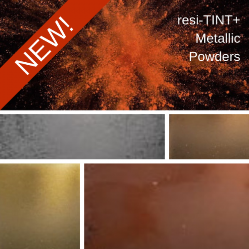 resi-TINT+ Metallic Powder