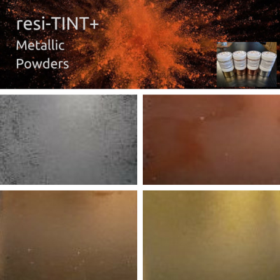 resi-TINT+ Metallic Powders